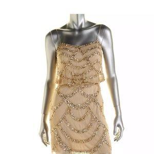 Aidan Mattox Beaded Dress